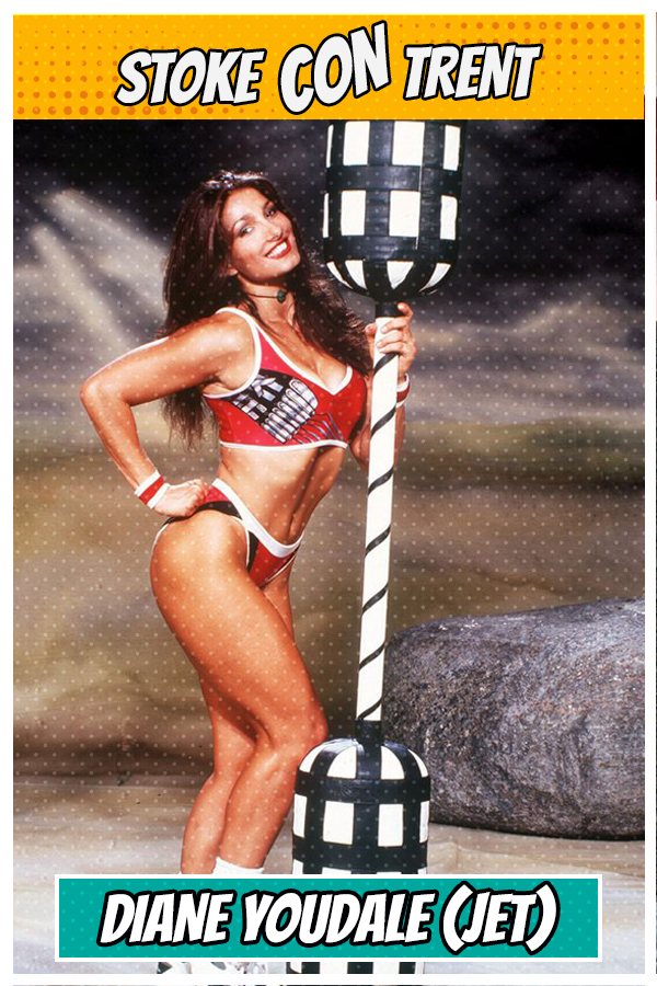 Meet Diane Youdale SCT #8 - Jet in ITV Gladiators Joins Stoke CON Trent #8 Guest