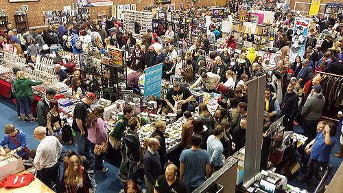 Traders at Stoke Comic Con