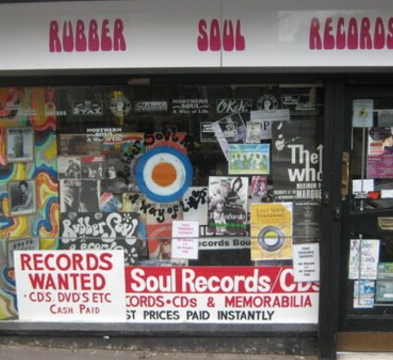 Rubber Soul Records Stoke sells tickets for Stoke CON Trent #4