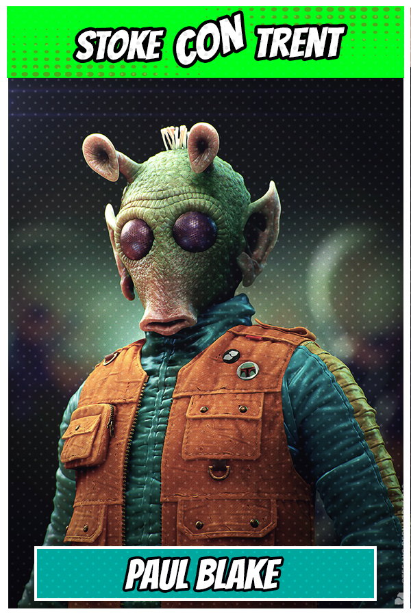 Rodian Bounty Hunter Greedo Paul Balke Satr Wars