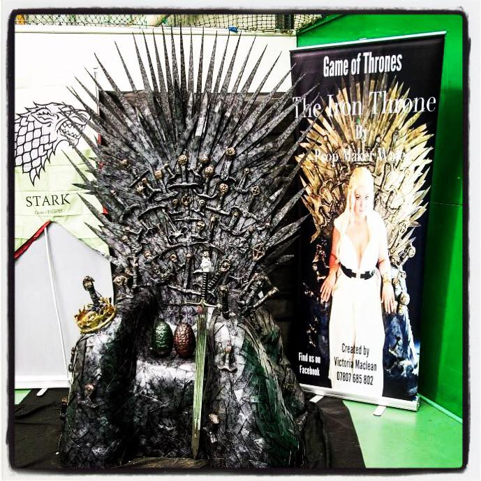 Game of Thrones HBO Stoke CON Trent #4 Victoria Maclean