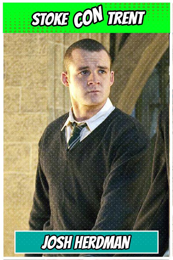 Josh Herdman Gregory goyle Harry Potter Stoke CON Trent #4