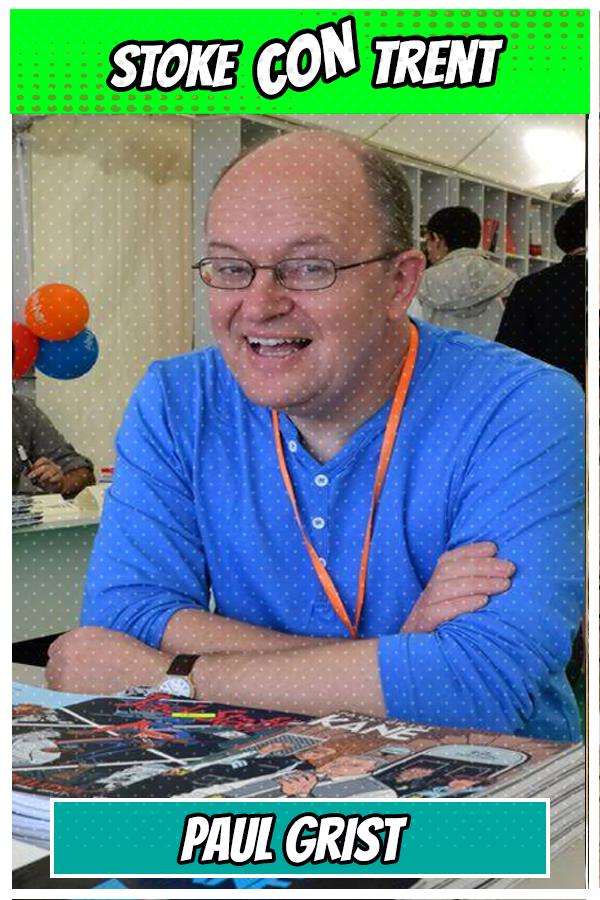 Mudman Stoke CON Trent #4 Paul Grist Comic Book Artist