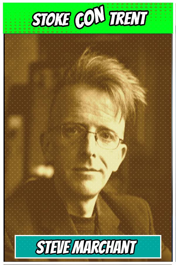 Stoke CON Trent Guest guest SCT #4 Steve Marchant Comic artist cartoon writer