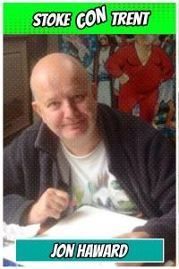 Marvel Panini UK Stoke CON Trent #4 Jon Haward Comic Artist SCT #4