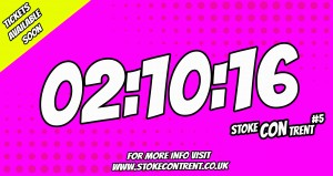 The Date For Stoke CON Trent #5 Is 2nd October 2016