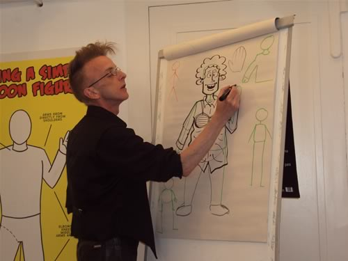 Comic Workshop Stoke CON Trent #4