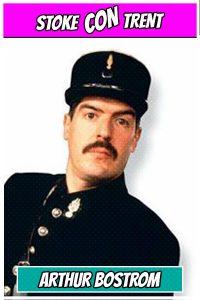 Arthur Bostrom Crabtree Stoke CON Trent #5 Guest Allo Allo