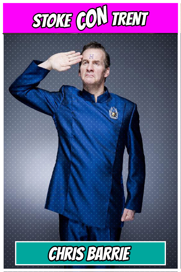 Chris Barrie Rimmer Red Dwarf Stoke CON Trent #5 Guest