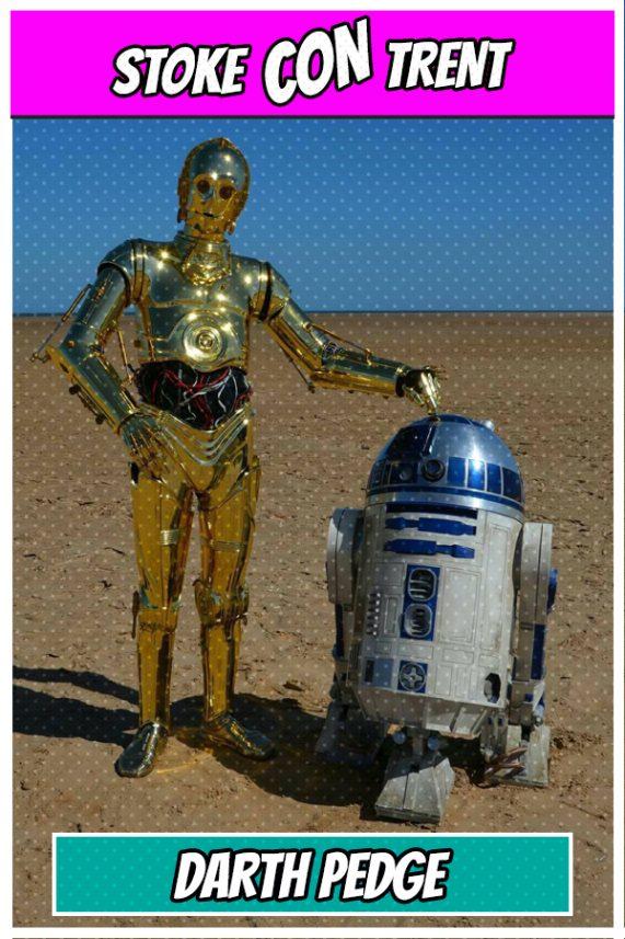 Darth Pedge R2-D2 C-3PO Star Wars Stoke CON Trent #5