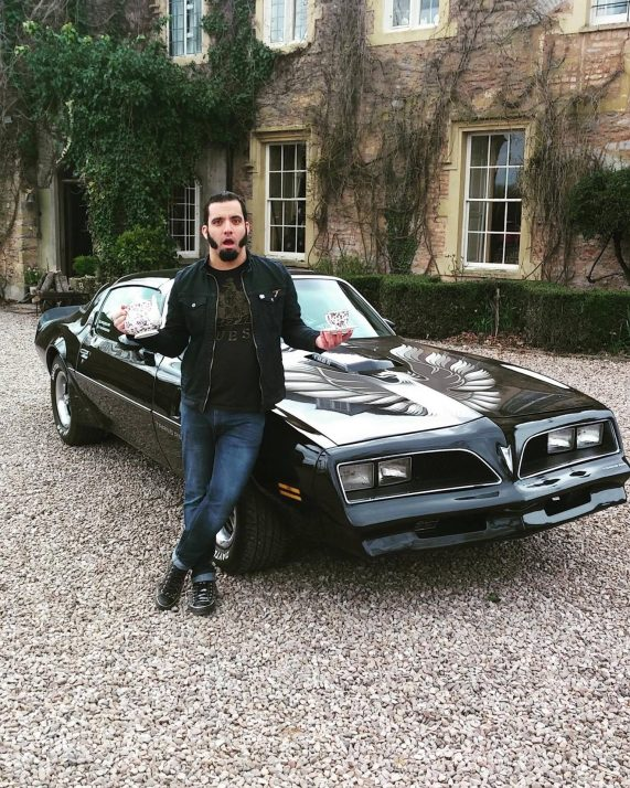 British Treasure American Gold Jesse McClure and Trans Am 2016