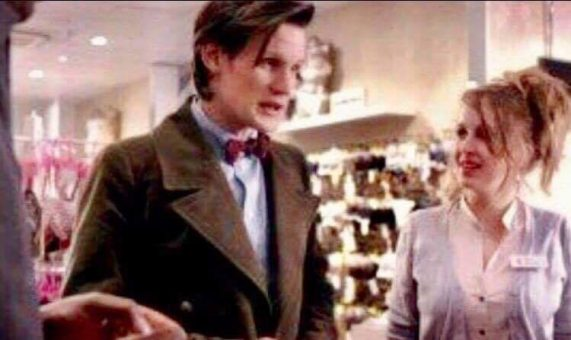 Kelly in the season 6, second episode Closing Time of Doctor Who alongside Matt Smith