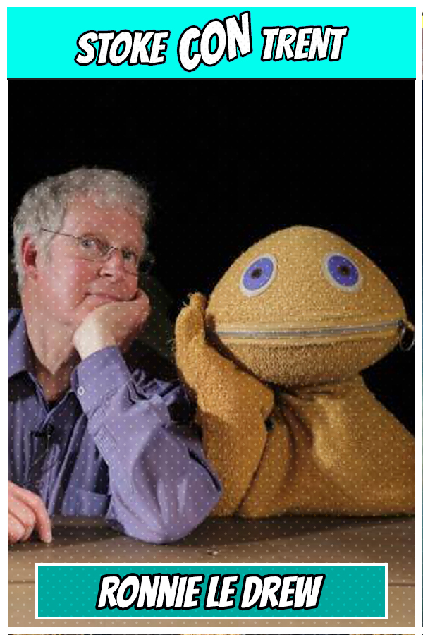 Rainbow Ronnie Le Drew SCT #6 - Zippy from Rainbow Joins Stoke CON Trent #6 Guest