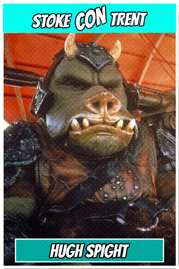 Hugh Spight SCT #6 - Gamorrean guard in Star Wars Joins Stoke CON Trent #6 Guest Jedi