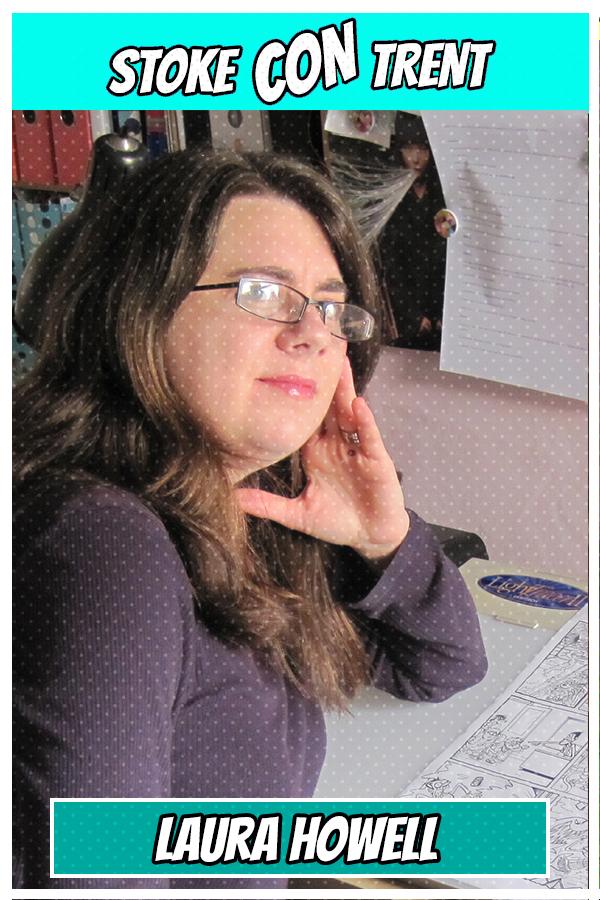 Talented Laura Howell SCT #6 - Beano Viz Artist Illustrator Joins Stoke CON Trent #6 Guest