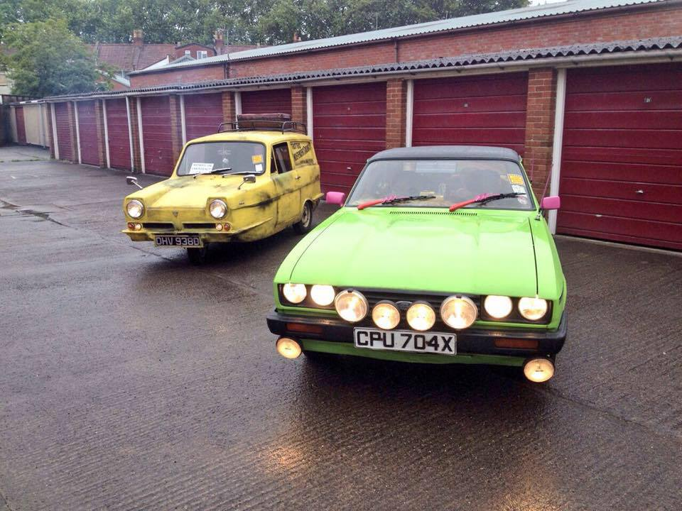 Reliant and Capri OFAH Only Fools and Horses Cars