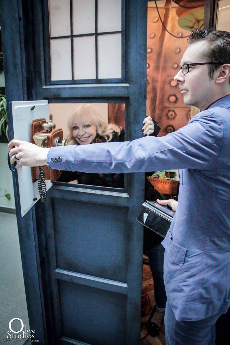 The TARDIS is at Stoke CON Trent #6 9th April 2017