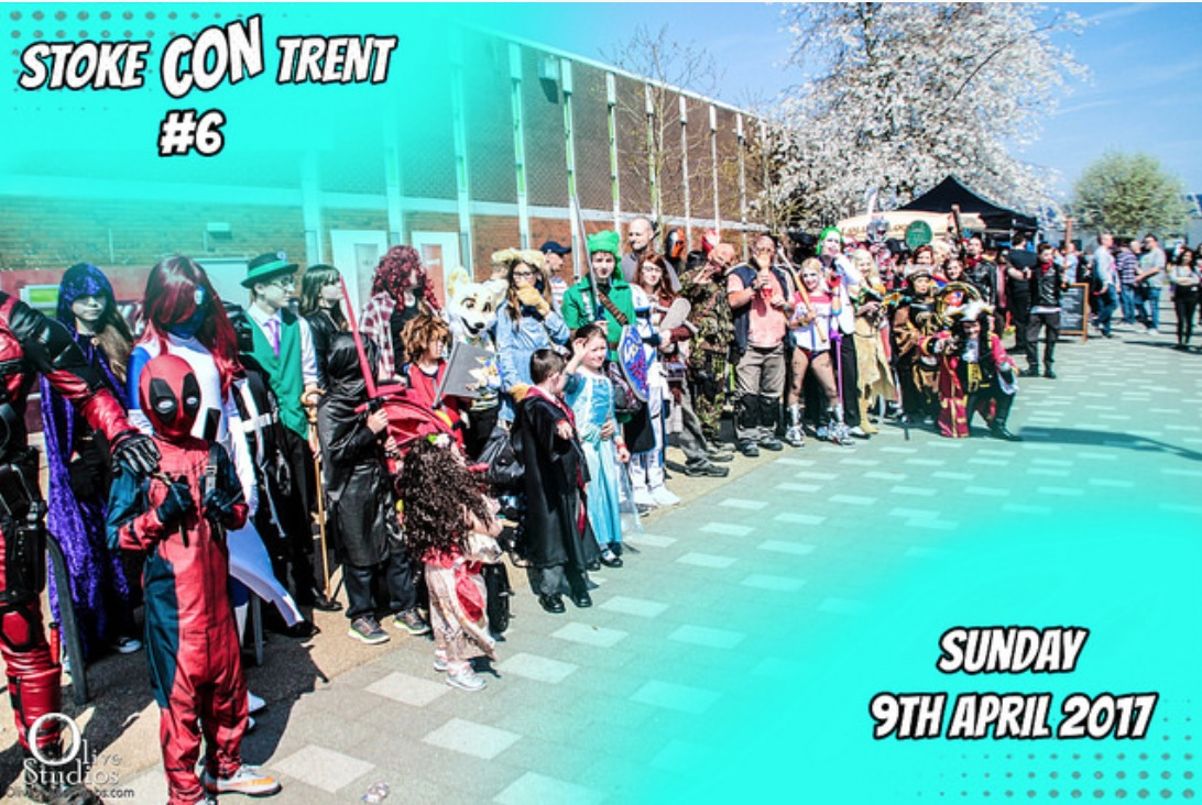 Stoke CON Trent #6 9th April 2017 COSPLAY parade