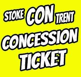 Stoke CON Trent #7 Concession Ticket