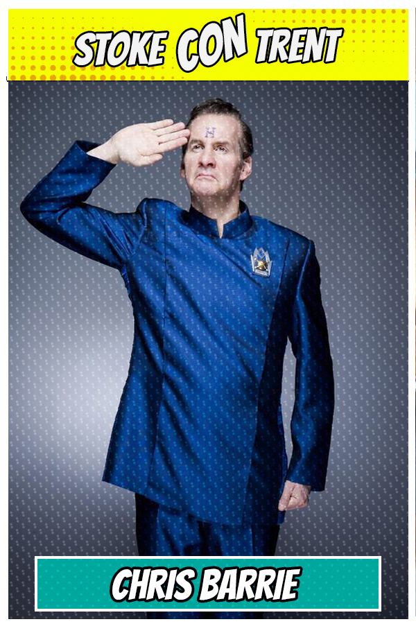 Meet Chris Barrie SCT #7 - Rimmer in Red Dwarf Joins Stoke CON Trent #7 Guest