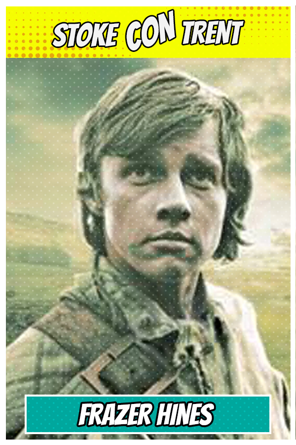 Come and meet Frazer Hines SCT #7 - Jamie McCrimmon in Dr Who - Joe Sugden In Emmerdale Joins Stoke CON Trent #7 Guest