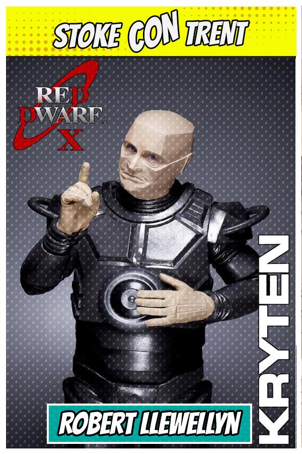 Red Dwarf X Robert Llewellyn SCT #7 - Kryten Red Dwarf Joins Stoke CON Trent #7 Guest