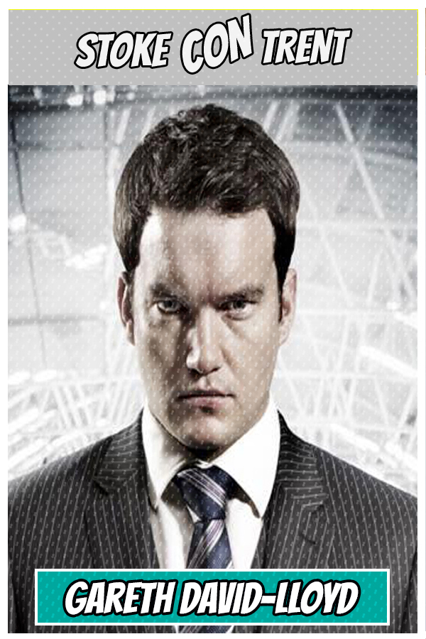 Meet Gareth David-Lloyd SCT #9 - Ianto Jones in Torchwood Joins Stoke CON Trent #9 Guest