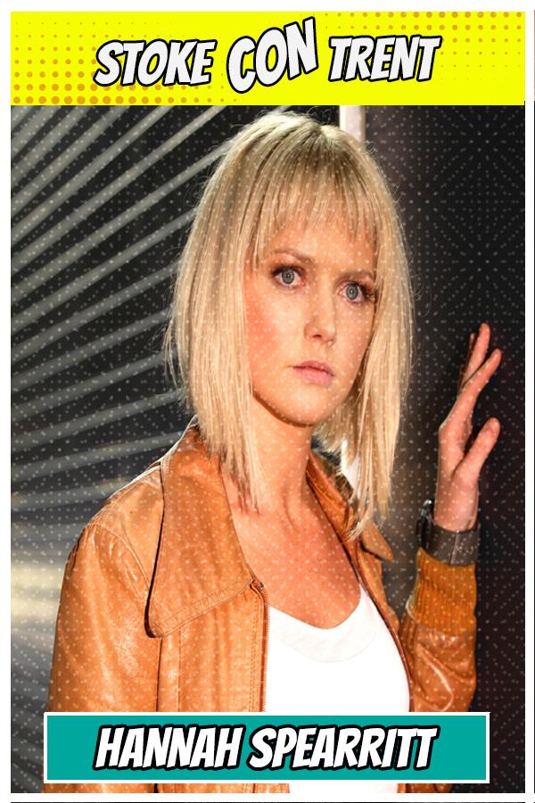 Meet Hannah Spearitt SCT #7 - Abby Maitland in Primeval former S Club 7 star Joins Stoke CON Trent #7 Guest