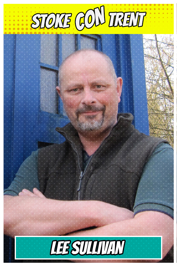 Meet Lee Sullivan SCT #7 - Doctor Who, Transformers, Thundercats Artist Joins Stoke CON Trent #7 Guest