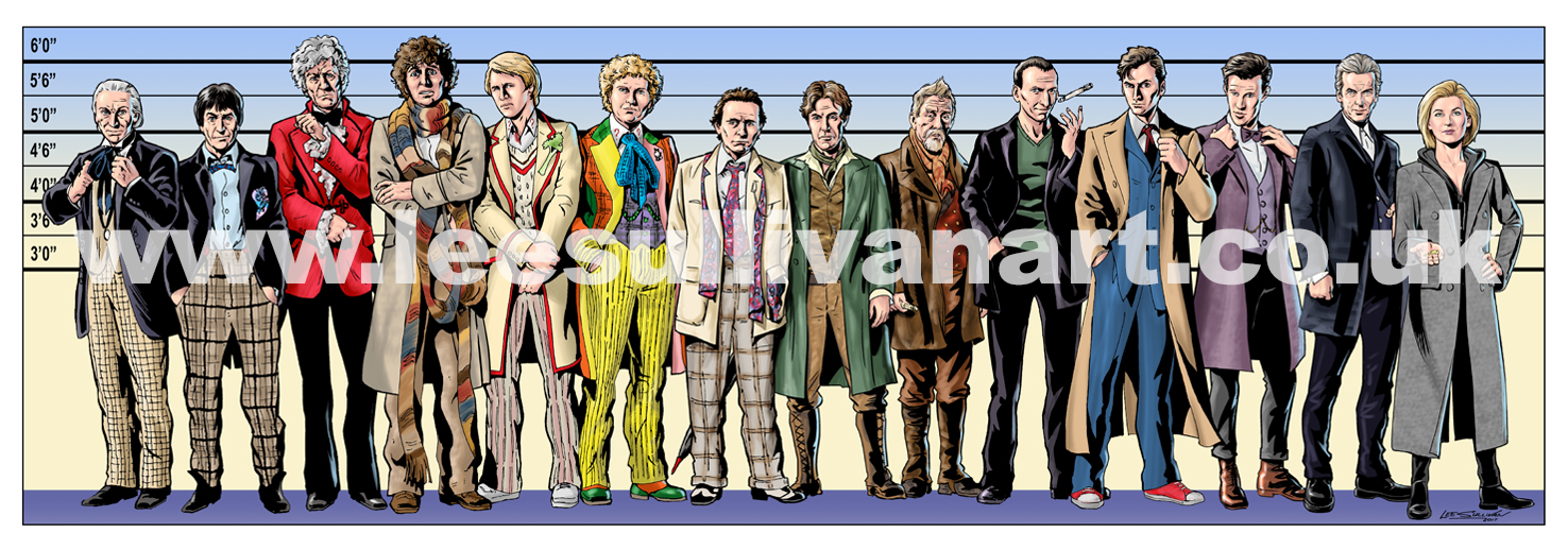at Stoke CON Trent Doctor Who Lee Sullivan Usuals 2017 watermarked