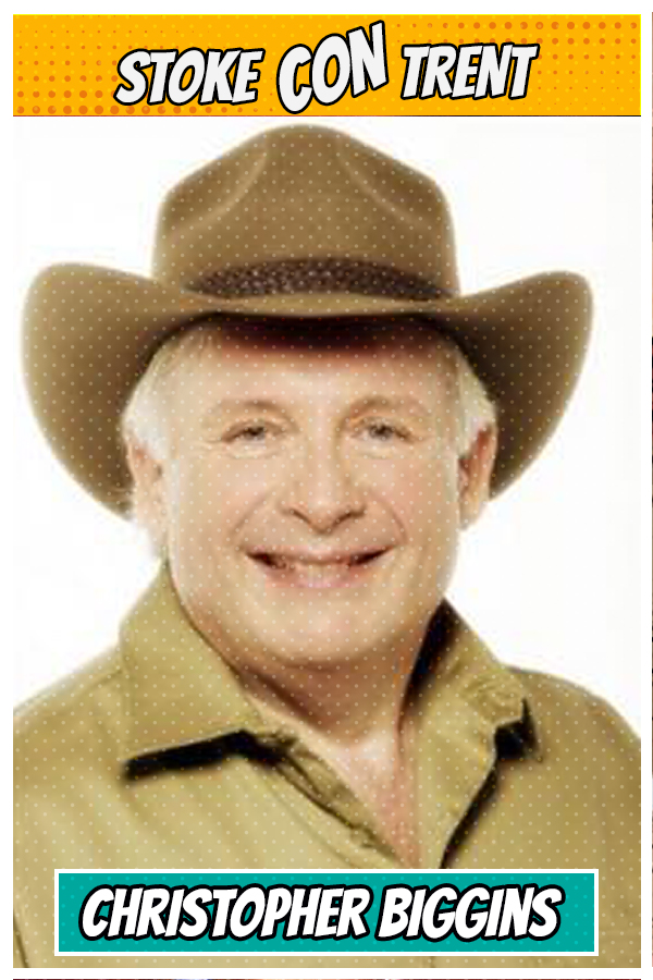 Meet Christopher Biggins SCT #8 - King of the Jungle in I'm A Celebrity Joins Stoke CON Trent #8 Guest