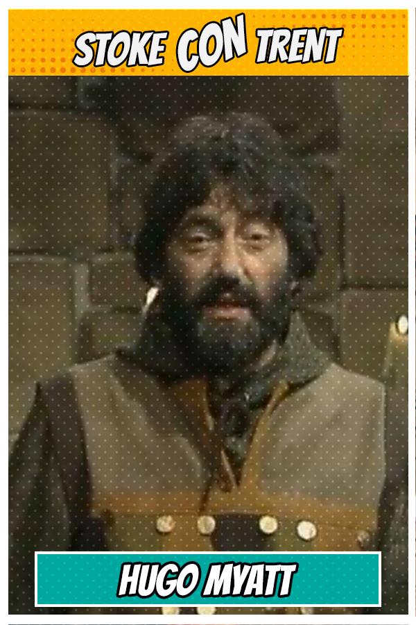 Meet Hugo Myatt SCT #8 - dungeon master Treguard in Knightmare Joins Stoke CON Trent #8 Guest