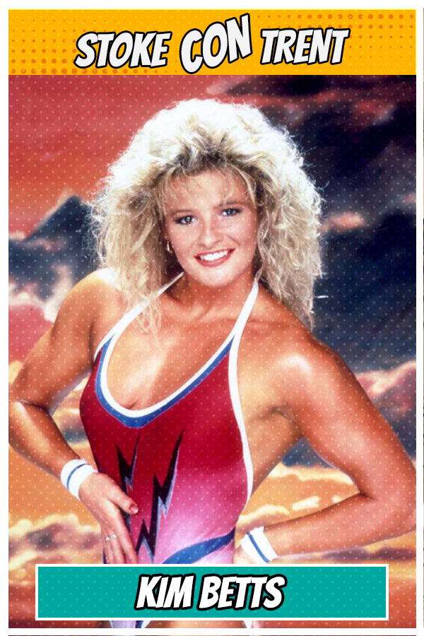 Meet Kim Betts SCT #8 - Lightning in Gladiators Joins Stoke CON Trent #8 Guest