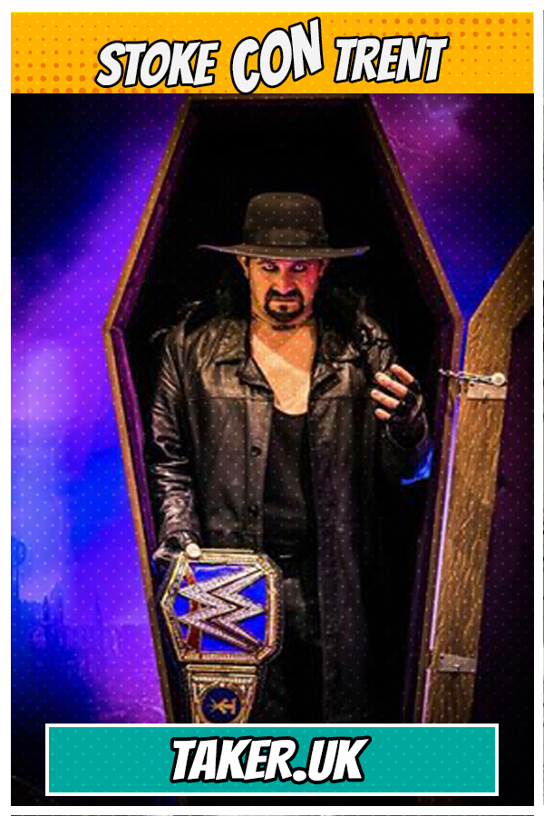 Meet Taker UK - WWE Lookalike of The Undertaker Joins Stoke CON Trent #8 Guest