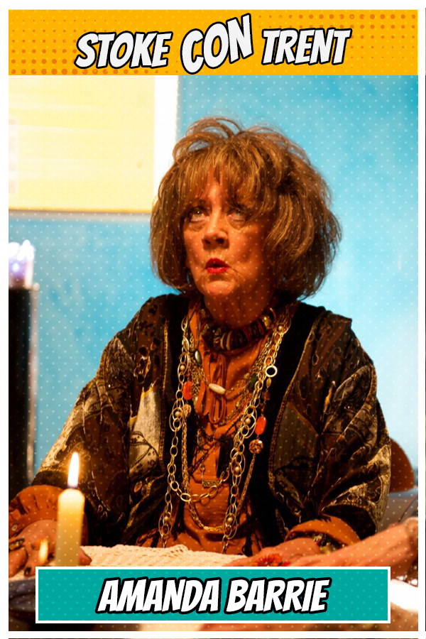 Meet Amanda Barrie SCT #8 - Psychic Sue n Benidorm Coronation Street Joins Stoke CON Trent #8 Guest