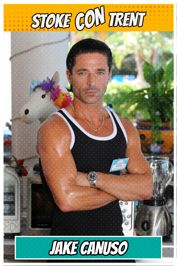 Meet Jake Canuso SCT #8 - Matteo in Benidorm Joins Stoke CON Trent #8 Guest