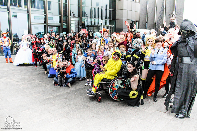 Inclusive Cosplay at Stoke CON Trent #8