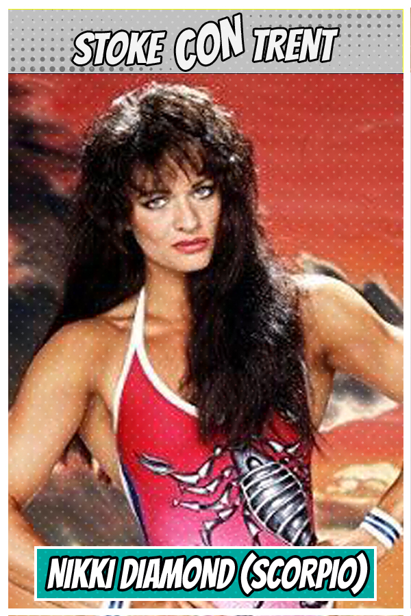 Meet Guest Nikki Diamond SCT #9 - Scorpio in ITV Gladiators Joins Stoke CON Trent #8 Guest