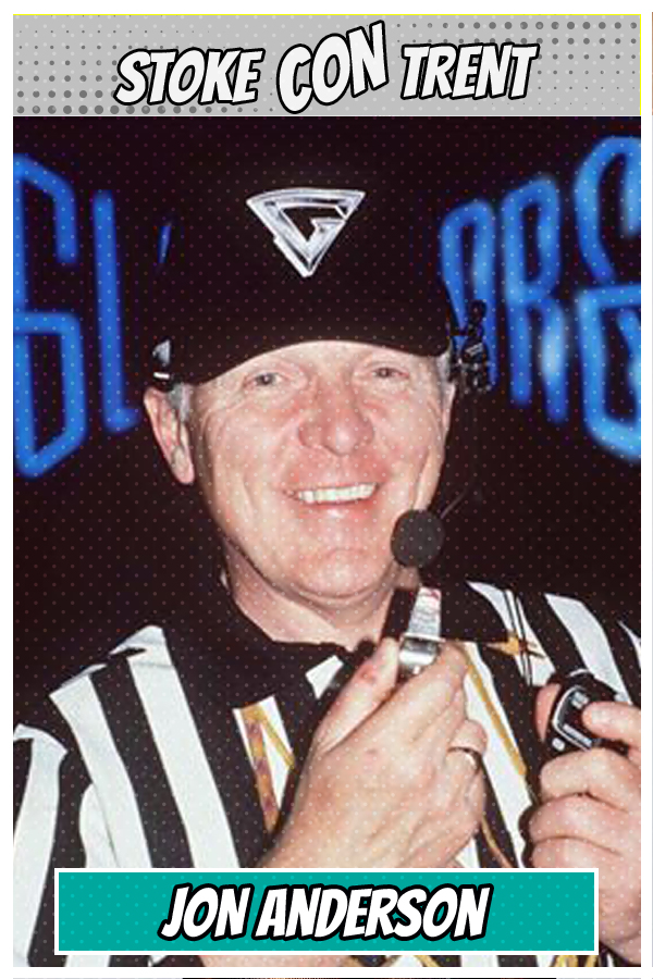 Meet Guest Template Name SCT #9 - Referee in Gladiators John Anderson Joins Stoke CON Trent #9 Guest
