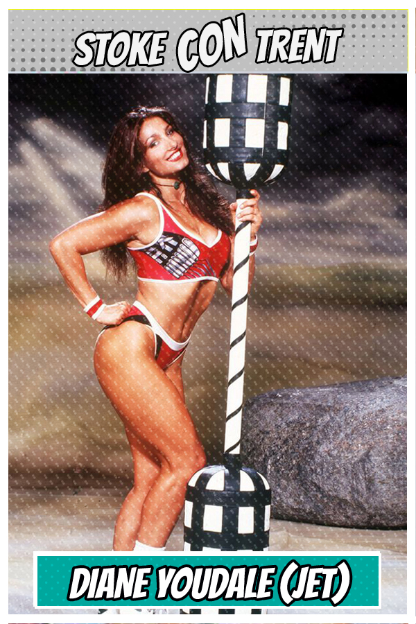Meet Diane Youdale SCT #9 - Jet in Gladiators Joins Stoke CON Trent #9 Guest