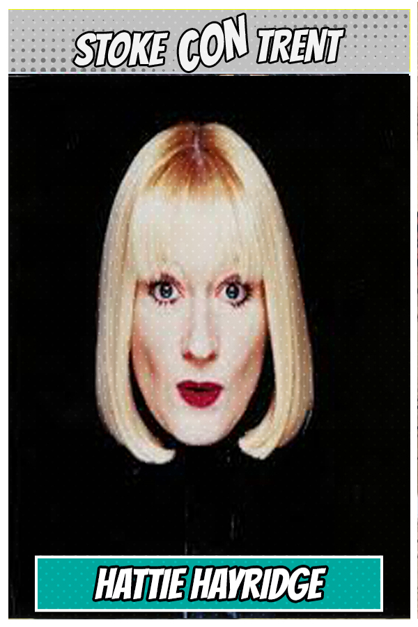 Meet Hattie Hayridge - Holly the Computer in Red Dwarf Joins Stoke CON Trent #9 Guest