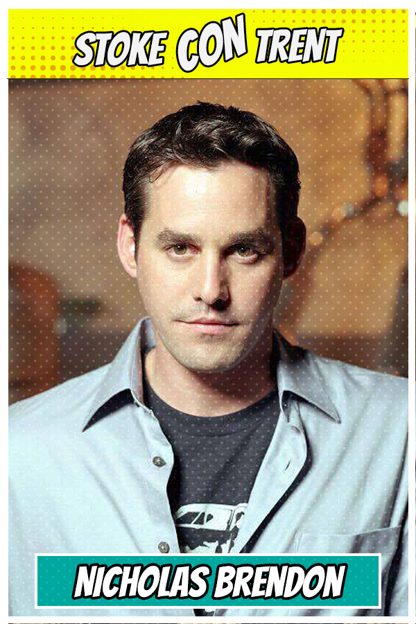 Come to meet Nicholas Brendon SCT #7 - Xander Harris in Buffy the Vampire Slayer Joins Stoke CON Trent #7 Guest